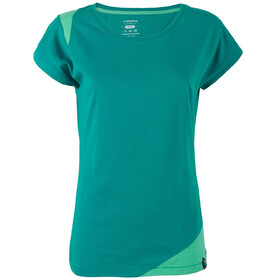 La Sportiva W's Chimney T-Shirt Emerald/Mint